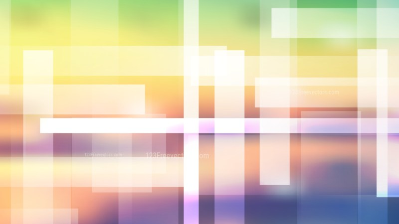 Abstract Light Color Modern Geometric Shapes Background Vector