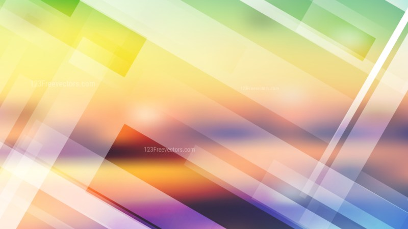 Light Color Modern Geometric Shapes Background Vector Image