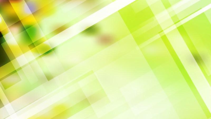 Abstract Light Green Geometric Background Illustration