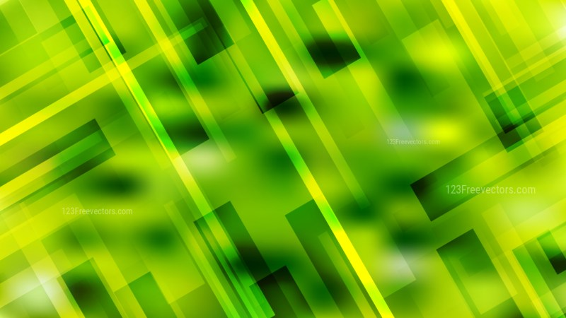 Lime Green Modern Geometric Shapes Background Image