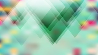 Abstract Mint Green Modern Geometric Shapes Background