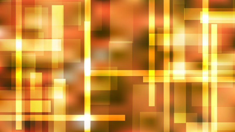 Abstract Orange Geometric Shapes Background