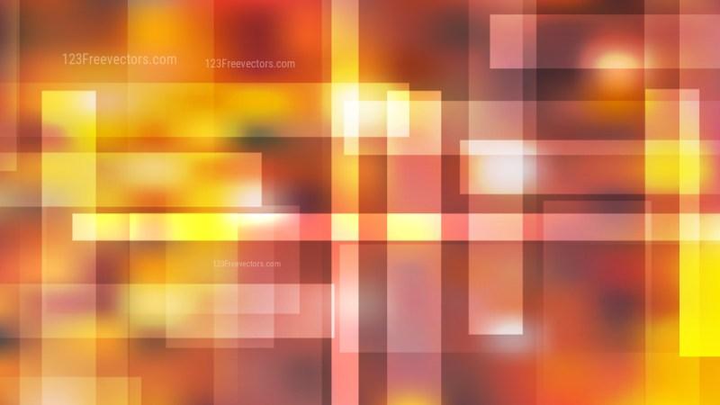 Geometric Abstract Orange Background