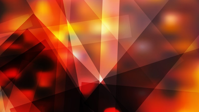 Orange and Black Geometric Abstract Background Vector Illustration