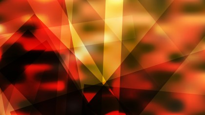 Geometric Abstract Orange and Black Background Vector