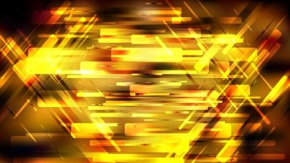 Abstract Geometric Orange and Black Background Image