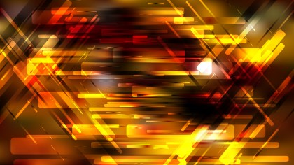 Abstract Geometric Orange and Black Background