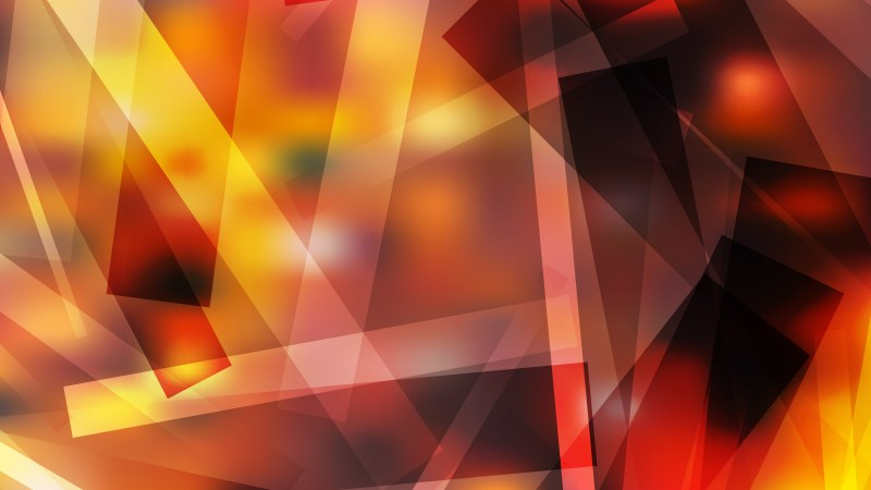 Abstract Orange and Black Geometric Shapes Background Vector Illustration