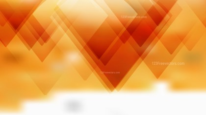 Geometric Abstract Orange and White Background
