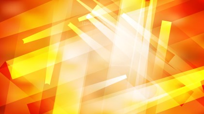 Abstract Geometric Orange and White Background Vector Image