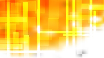 Abstract Orange and White Geometric Shapes Background Vector Art