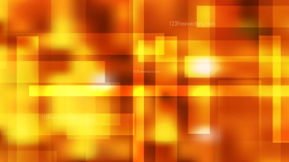 Orange and Yellow Modern Geometric Background Vector Art