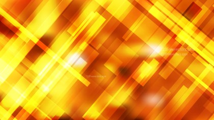 Abstract Geometric Orange and Yellow Background