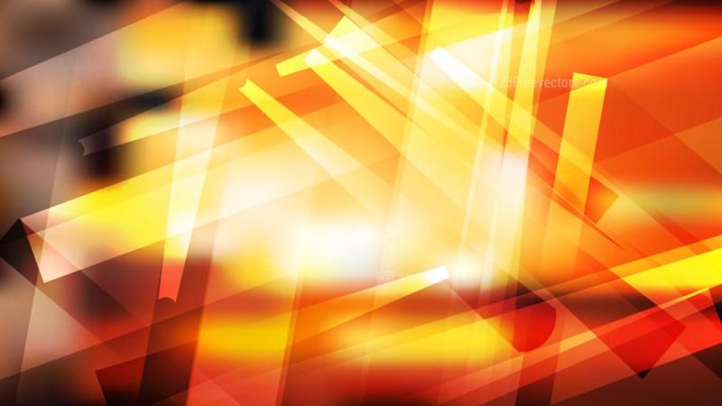 Abstract Orange Black and White Modern Geometric Background