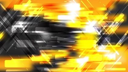 Orange Black and White Modern Geometric Background