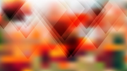 Abstract Geometric Orange White and Green Background Vector Image