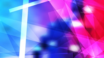 Abstract Pink and Blue Modern Geometric Background