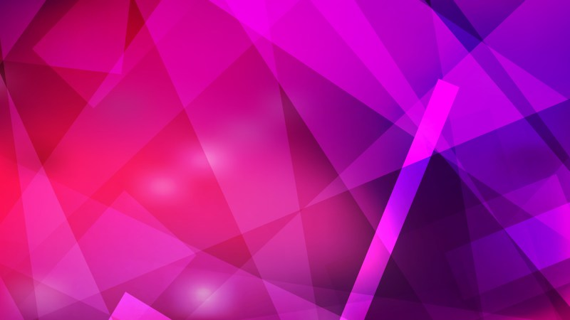 Abstract Pink and Purple Lines Stripes and Shapes Background Vector Illustration