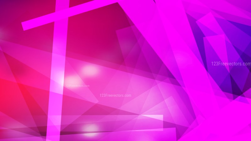 Abstract Pink and Purple Geometric Shapes Background