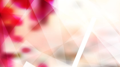 Pink and White Modern Geometric Background Vector Art