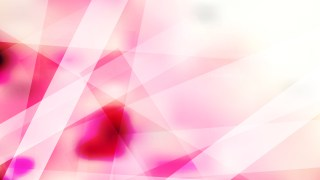 Pink and White Modern Geometric Shapes Background Illustration