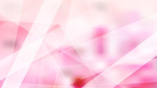 Abstract Pink and White Geometric Background Image