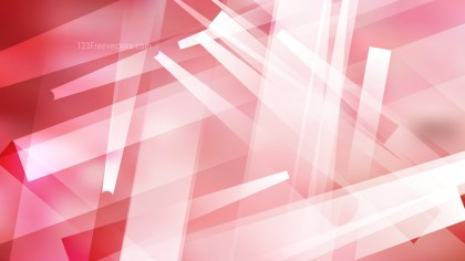 Pink and White Lines Stripes and Shapes Background