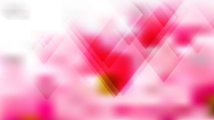 Abstract Pink and White Modern Geometric Shapes Background