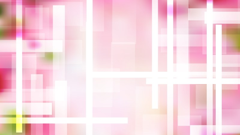 Pink and White Geometric Abstract Background