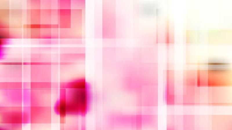 Pink and White Modern Geometric Background