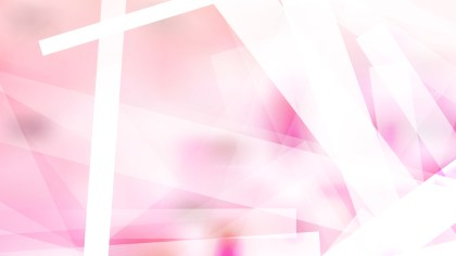 Pink and White Modern Geometric Shapes Background