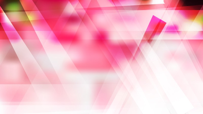 Abstract Pink and White Modern Geometric Background