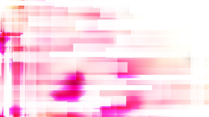 Pink and White Geometric Background Vector Graphic