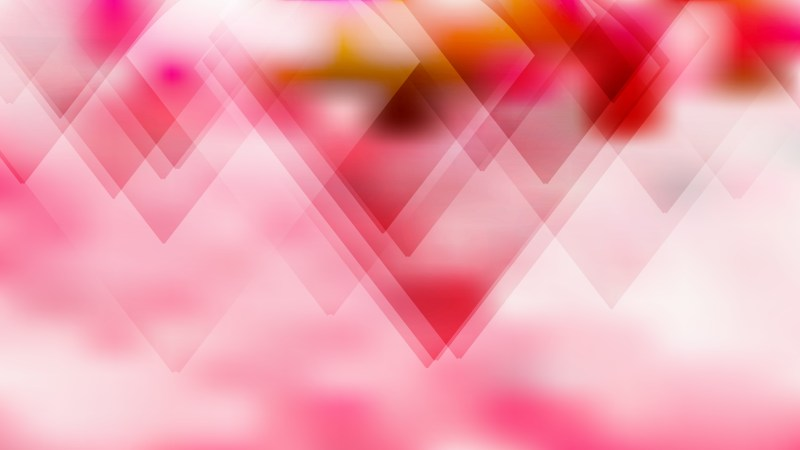 Pink and White Geometric Abstract Background Vector Image