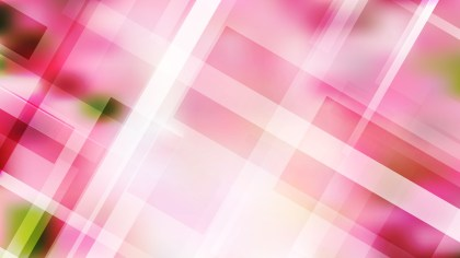 Geometric Abstract Pink and White Background