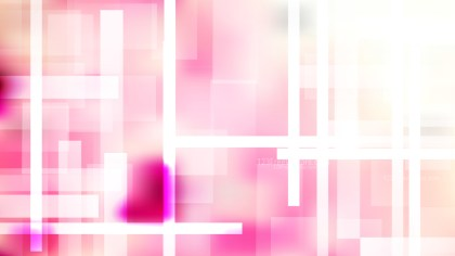 Abstract Geometric Pink and White Background Illustration