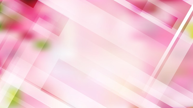 Pink and White Geometric Abstract Background Vector Illustration