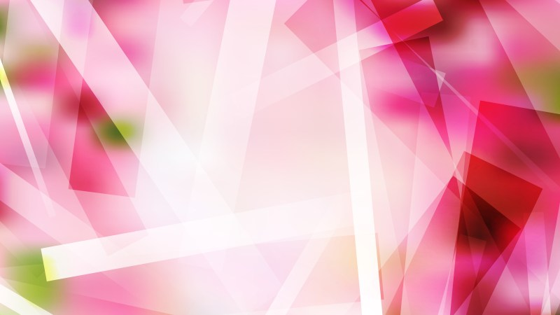 Abstract Pink and White Geometric Background