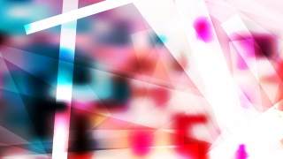 Pink Blue and White Modern Geometric Background Image