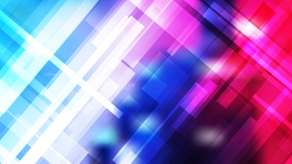 Pink Blue and White Geometric Abstract Background