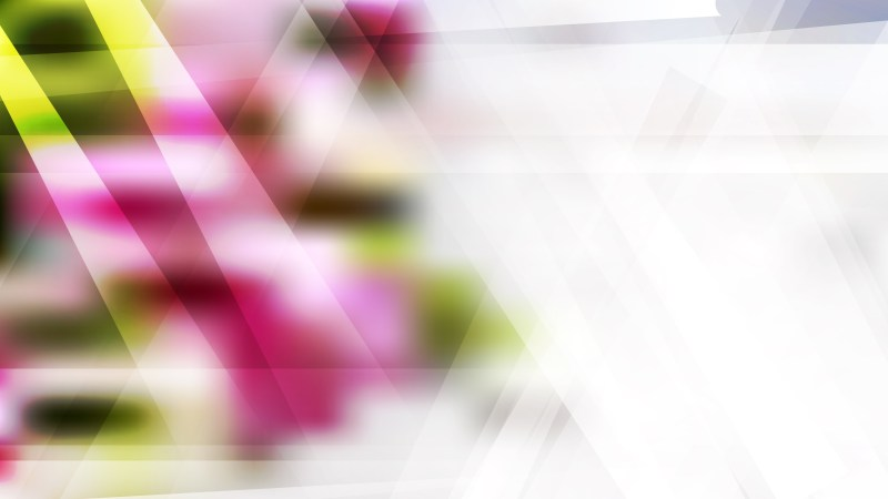 Pink Green and White Lines Stripes and Shapes Background