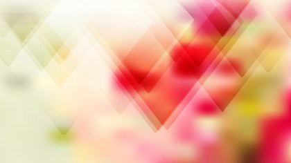 Pink Yellow and White Geometric Abstract Background Vector Art