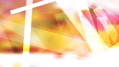 Pink Yellow and White Modern Geometric Background