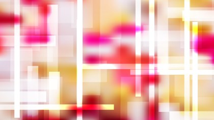 Pink Yellow and White Geometric Abstract Background Illustration