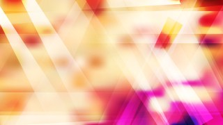 Geometric Abstract Pink Yellow and White Background