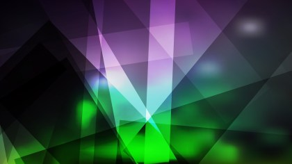 Purple and Green Lines Stripes and Shapes Background