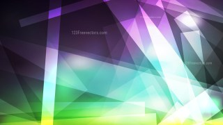 Purple and Green Modern Geometric Background Vector Illustration