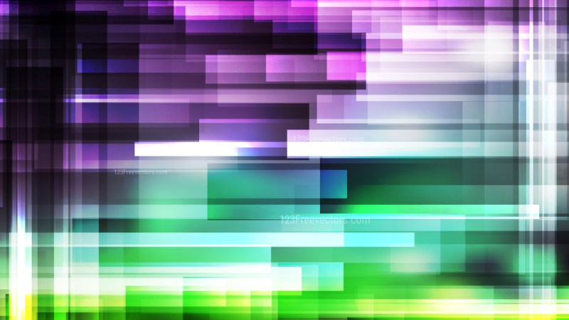 Purple and Green Modern Geometric Background