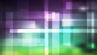 Abstract Purple and Green Geometric Background