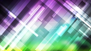 Abstract Purple and Green Geometric Background Vector Image